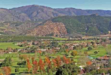 Pauma Valley aerial