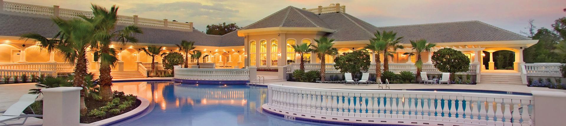 golf community swimming pool